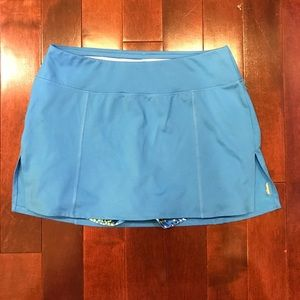 lucy tech Tennis Athletic Workout Gym Shorts Skirt